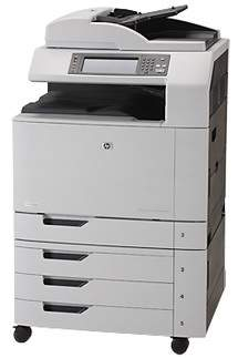 HP Color LaserJet CM6040f Driver