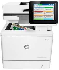 HP Color LaserJet Enterprise MFP M577f driver