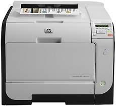HP LaserJet Pro 400 color M451dw Driver