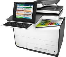HP PageWide Enterprise Color Flow MFP 586z driver