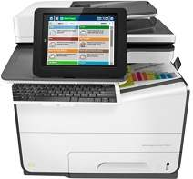 HP PageWide Managed Color MFP E58650dn Driver